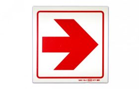 Red Arrow Right Sign
